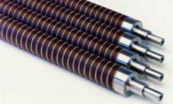 патентует фальцевальные ролики со спиральной насечкой (1973)