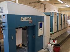KBA Rapida 74-4 PWVA, 2005 год