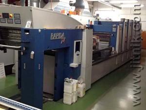 KBA Rapida 74-5+L ALV2 UV, 2006 год