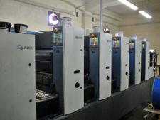 уф-печать KBA Rapida 74-5+L CX ALV2, 2002 год выпуска