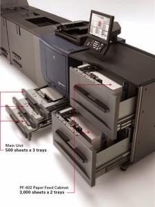 подающие кассеты большой емкости PF-602 (Коника Минолта bizhub PRESS C7000P)