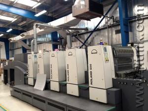 печатная машина Roland 504+LV (2005)