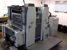 2 красочная печатная машина Ryobi 522 GX, 2006 год выпуска