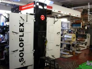 флексографская машина W&H Soloflex 8L, 2008 год