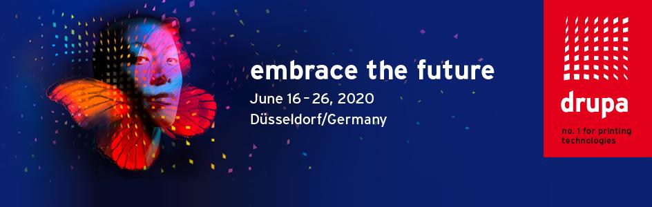 международная выставка drupa 2020, Дюссельдорф