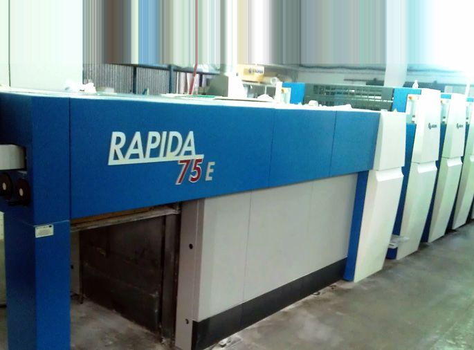 KBA Rapida 75-5-LX, 2010 год