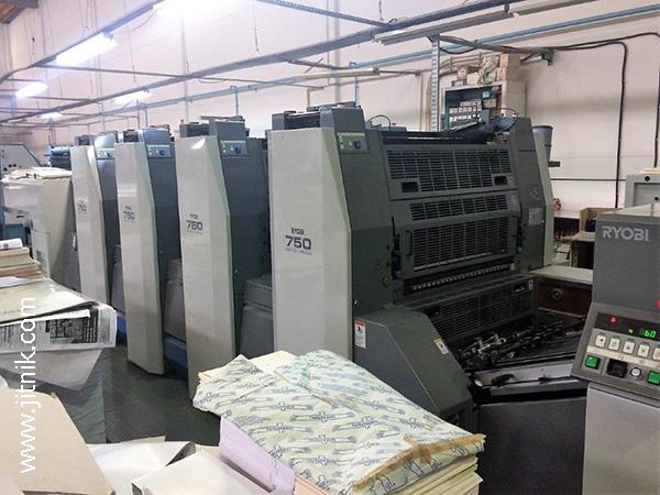 печатная машина Риоби 754 XL (б/у)