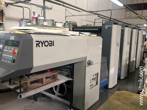 высокостапельная приёмка Ryobi 754 XL (2003)