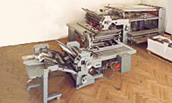 Первая кассетная фальцевальная машина MBO (1968)