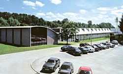 новое конструкторское и административное здание в Оппенвайлер (Oppenweiler), 1997