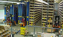 новый сервисный и логистический центр в Оппенвайлере (Oppenweiler) (2001)