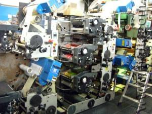 Gallus R200B (печатные секции)