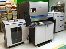 цифровая офсетная машина HP Indigo press 5000 (5+5), 2007 год