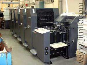 Heidelberg Printmaster PM52-5, (2008 год)