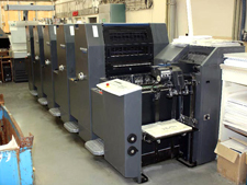 Heidelberg Printmaster PM 52-5, 2008 год выпуска