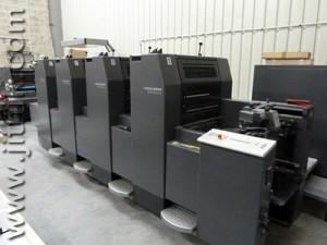 б/у печатная машина Heidelberg SM 52-4 P+ (1998 год)