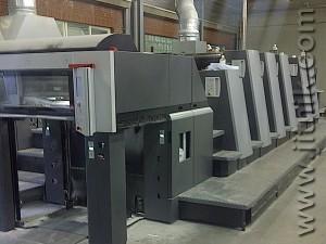 Heidelberg XL75-5P3+LX, 2009 год выпуска