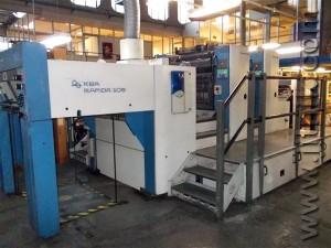 печатная машина KBA Rapida 105-2 УФ (2000 год)