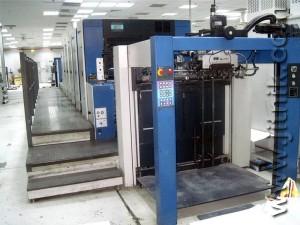 KBA Rapida 105-5 U +L ALV2, 2006 год