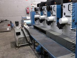 офсетная машина листовой печати КБА Рапида 72-4 (б/у)