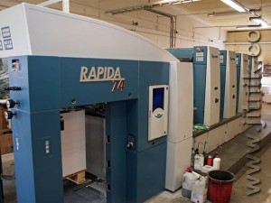 KBA Rapida 74-4 (выклад)
