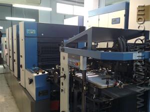 печатная машина KBA Rapida 74-4 PWHA (2002 год)