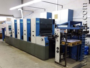печатная машина KBA Rapida 74-4 PWVA (2001 год)