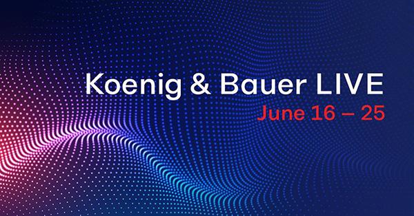 Koenig & Bauer LIVE! 16-25 июня 2020