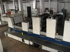 листовая машина Komori Lithrone 640+L в Украине