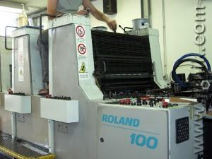 MAN ROLAND R 104 T 01 (самонаклад)