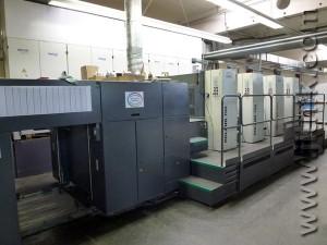 печатная машина MAN Roland 704 P (2003)