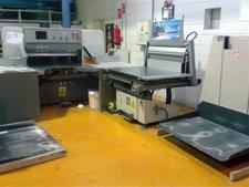 одноножевая бумагорезательная машина Polar 115 E, 2001 года выпуска