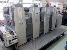 4 красочная листовая офсетная печатная машина Риоби 524 GX (б/у)