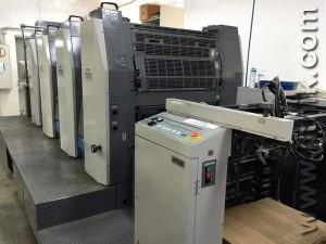 печатная машина Ryobi 784E, 2006 год