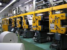 газетная печатная машина Solna D25/D30 (1988 год)