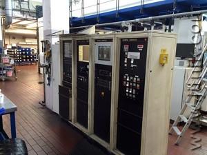 электрооборудование флексомашины Windmoller & Holscher Olympia Starflex
