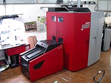 рулонная цифровая печатная машина Xeikon 5000 plus, 2008 год (5+5)