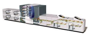 схема построения ЦПМ Xerox DocuColor iGen3