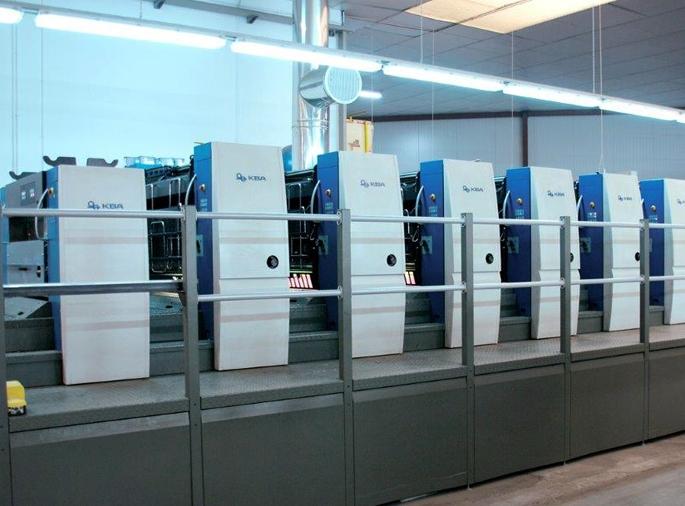 KBA Rapida 105-6-LX, 2010 год